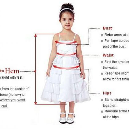 Cute Kid Pageant Dresses For Weddin..