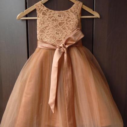 2020 New Flower Girl Dresses with S..