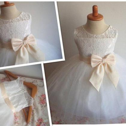 2020 Real Flower Girl Dresses with ..