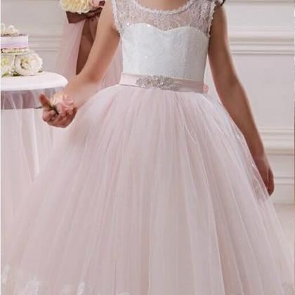 2020 Lace Flower Girl Dresses by Tu..