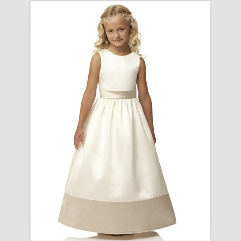2017 Hot Sale First Communion Dresses White Girls Pageant Dresses ...