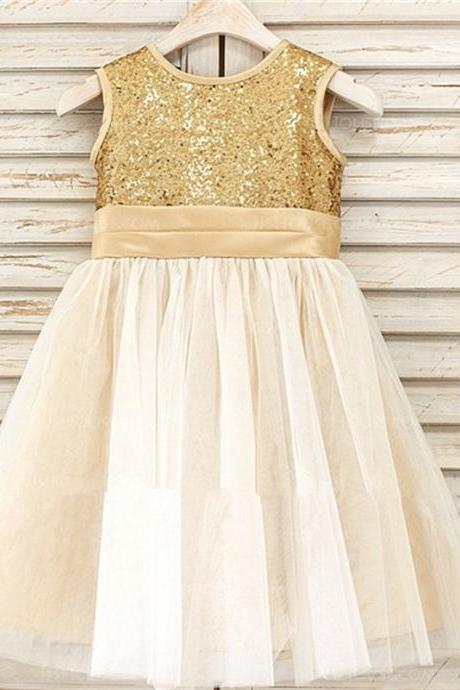 New Arrival Flower Girl Dresses for Wedding Little Girls KidsChild Dress with Sashes Fashion Ball Party Pageant Communion Dress